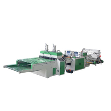 Fully Automatic Super High Speed Four Channel T-shirt Bag Making Machine